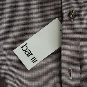 Bar III Shirts - Bar III Houndstooth Dress Shirt